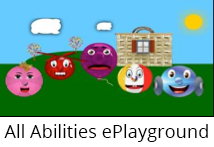 All Abilities ePlayground logo