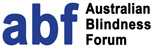 australian blindness forum ABF